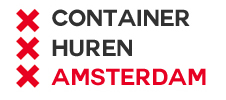 v.a. €85,- Container huren Amsterdam ★★★★★